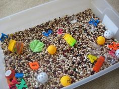 indoor sand/bean box