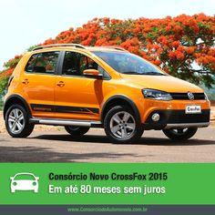 Renovado e com o visual mais sofisticado, o Volkswagen CrossFox chega à linha 2015! Confira na matéria: https://www.consorciodeautomoveis.com.br/noticias/consorcio-novo-crossfox-2015-em-ate-80-meses?idcampanha=206&utm_source=Pinterest&utm_medium=Perfil&utm_campaign=redessociais