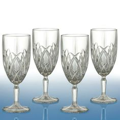 Waterford Crystal Brookside Iced Beverages Set(s) Of 4 by Marquis. Save 55 Off!. $44.95. Set of 4 elegant glassware by Waterford.. Iced Beverages Set(s) Of 4 - Synonymous With Versatility And Value, Marquis By Waterford Presents A Fresh New Look On The Quintessential Brookside Pattern In This Stemware Collection - Made In Imported