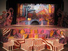 Sian Storey Art - Willy Wonka Xmas 2010
