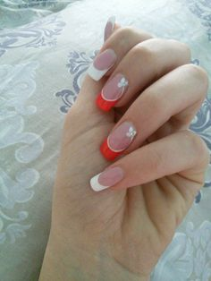 #Idea for #manicure  #Nails  #French