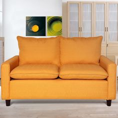 Beautiful Modern Loveseat for Small Spaces