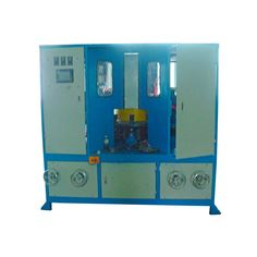 JINZHU® Metal polishing lathe machine isspecially designed forgrinding, polishing and finishing circular, regular or irregular parts like: water fittings, lamps, gears, wheels, aluminum and stainless steel cookware, automobile parts, containers,etc. Thefeatures of metal polishing lathe machine are below:   controlled by PLC program, also have CNC controlled according to the items which need polished  suitable for