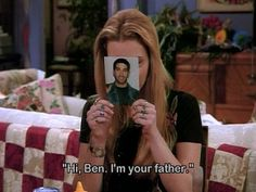 Ross asks Monica to show his picture to Ben while he is in China, so that Ben won't forget him.