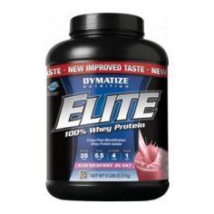 Avec Elite Whey, Dymatize démontre une nouvelle fois son savoir-faire tant apprécié par les boydbuilders !   Elite Whey est une protéine de lactosérum exceptionnelle, particulièrement efficace pour prendre rapidement du muscle sec.  Elite Whey est composée d\'un mélange de d\'isolats et de concentrés de protéines de lactosérum (whey).  La whey possède une valeur biologique très élevée. Elle est considérée comme la protéine à digestion rapide reine par les bodybuilders pour développer sa…
