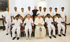 Praying for victory: Vatican cricketers arrive in England for maiden tour