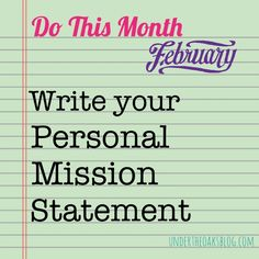 do you have a mission statement every successful business has a