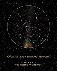 109 Best My Sky Custom Star Maps™ images