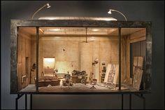 Miniature Room Models by artist Charles Matton.