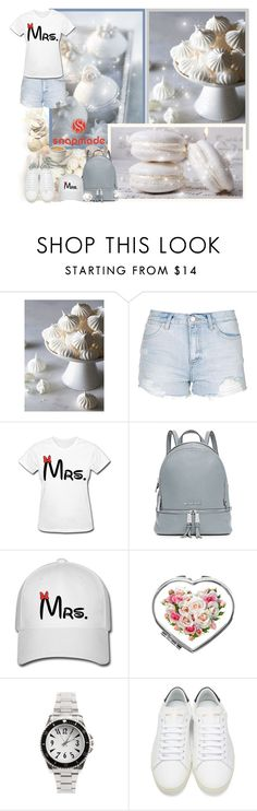 """""""Snapmade.com"""" by asia-12 ❤ liked on Polyvore featuring Topshop, MICHAEL Michael Kors, Yves Saint Laurent and snapmade"""