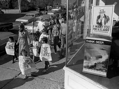Anti-war march in Athens, Ohio, in 1969.