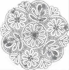 Волшебный мир рукоделия: Вологодское кружево. Сколки. Салфетки.
