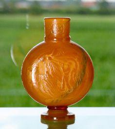 Burgun and Schwerer vase with a glassblower