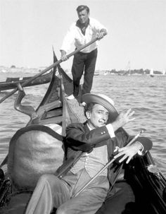 Salvador Dali in Venice 1961