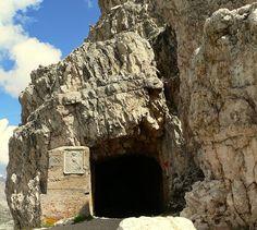 Der Eingang zum Innerkofler De Luca-Steig