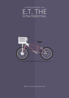 the Extra-Terrestrial ~ Minimal Movie Poster by George TownleyE. the Extra-Terrestrial ~ Minimal Movie Poster by George Townley Best Movie Posters, Minimal Movie Posters, Minimal Poster, Movie Poster Art, Poster Series, Tv Series, Comedy Movies, Art Movies, Movie Film