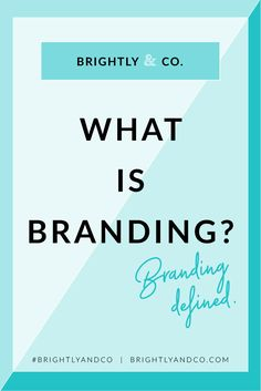 Personal Brand, Corporate Brand, Brand Identity, Brand Development, Brand  Strategy, Brand Design…  There are a lot of words that all come back to one main core thing...so  let's make it plain and simple shall we? Branding.  Like most things, before you dive into the details of your Brand, you