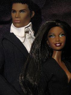 Barbie with Darius Reid by valleyofthedolls, via Flickr