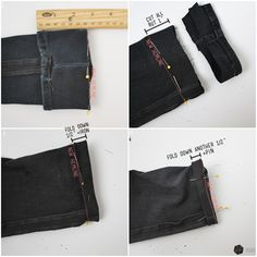 How to hem your pants