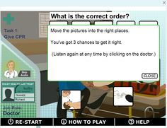 The BBC's Skillswise offers activities for learning and practicing skills, including a speaking and listening section, which contains subsections offering lessonson listening for specifics, communication skills, formal and informal speaking, and giving presentations. Each section has a short introductory video followed by a set of quizzes and interactive games in which students test their skills.