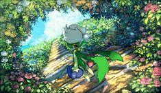 Pokémon - 407 Roserade art by Pippi (Pixiv (Sankaku Channel) Pokemon Oc, Pokemon Memes, Pokemon Fan Art, Pokemon Stuff, Lugia, Totoro, Pokemon Terrarium, Original Pokemon, Fandoms