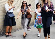 Street Style: New York Fashion Week Spring 2015 – Vogue