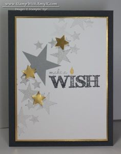 Simply Stars Make a Wish Card