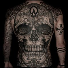 Back piece done by Maud Dardeau, tattooist at Tin-tin tatouages (Paris), France TattooStage.com - Rate & review your tattoo artist. #tattoo #tattoos #ink