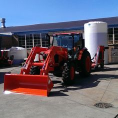 Big Kubota Tractor #kubota #tractor