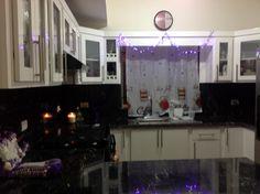 Granito, cocina , Navidad