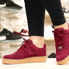 Nike Air Force 1 High Suede Dep Garnet R$ 341,91