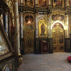 United Thoughts of a Wanderluster: College trip around Serbia! Historical Church near Sabac. So many gold and architecture details. So many history here. It's an Orthodox Christian Monastery.