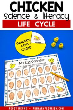 Chicken Life Cycle Science and Literacy Activities Teaching Social Studies, Teaching Writing, Teaching Strategies, Teaching Science, Teaching Resources, Grammar Activities, Kids Learning Activities, Fun Learning, Classroom Posters