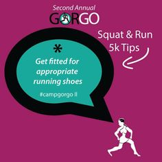 Sign up for our 5k squat and run today! @gorgomag