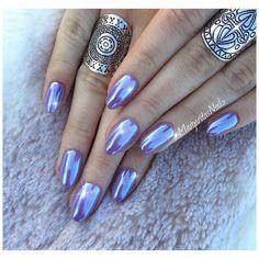 "2,001 Likes, 12 Comments - Margarita (@margaritasnailz) on Instagram: ""✨✨ • • #chromenails #nails #purple #naturalnails #MargaritasNailz #manimonday #gelmani…"""
