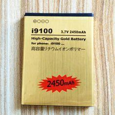 Haute Capacité D'or Batterie De Remplacement EB-F1A2GBU pour Samsung Galaxy S2 9062/I847/i9100/i9101/i9105/i9050/i9188 batterie