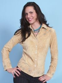 Scully Boar Suede Shirt