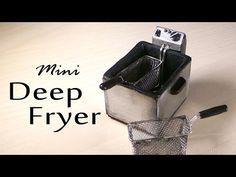 Miniature Deep Fryer - Polymer Clay Tutorial - YouTube
