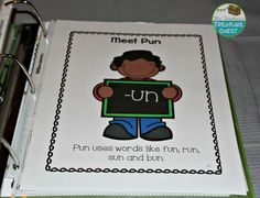 Reading Intervention Binder- Word Families Edition