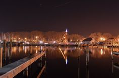 South Haven at night through the lens of @jxwny.
