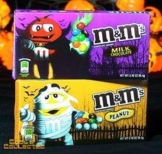 M&Ms Halloween packaging