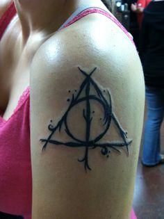 My deathly hallows tattoo