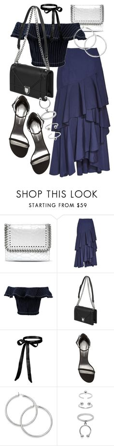 """Untitled #21255"" by florencia95 ❤ liked on Polyvore featuring STELLA McCARTNEY, Alice + Olivia, T By Alexander Wang, Stuart Weitzman and Maria Francesca Pepe"