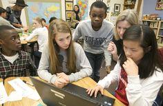 anser charter school, refugees, cultural exchange