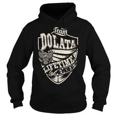 I Love Last Name, Surname Tshirts - Team DOLATA Lifetime Member Eagle T shirts