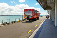 Thrilling Jet Boat Ride on Auckland's Harbour Duck Bus, Different Perspectives, Auckland, New Zealand, Cruise, Bridge, Boat, Tours, Adventure