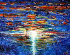 Seascape by John Bramblitt (blind artist)