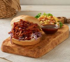 Highlands Market 3lbs. Hickory Smoked Pulled Turkey & BBQ Sauce