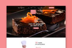 Royal Bakery - Cakery & Bakery Website HTML Template Html Website Templates, Template Site, Psd Templates, Bakery Website, Html Css, Portfolio Web Design, Web Themes, Free, Baking