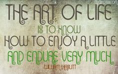 Picture quote by William Hazlitt about life